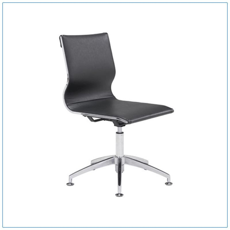 Glider Conference Chairs - Black - LV Exhibit Rentals in Las Vegas