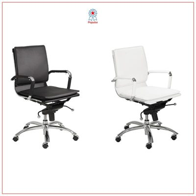Gunar Low Back Office Chairs - LV Exhibit Rentals in Las Vegas