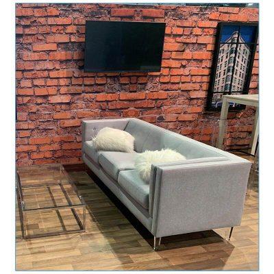 Hemet Sofa - LV Exhibit Rentals in Las Vegas