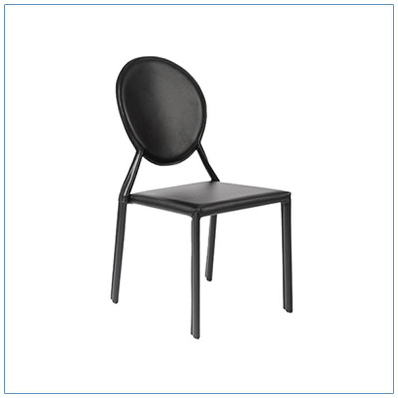 Isabella Chairs - Black - LV Exhibit Rentals in Las Vegas
