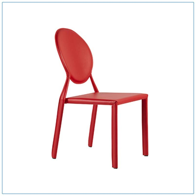 Isabella Chairs - Red - LV Exhibit Rentals in Las Vegas