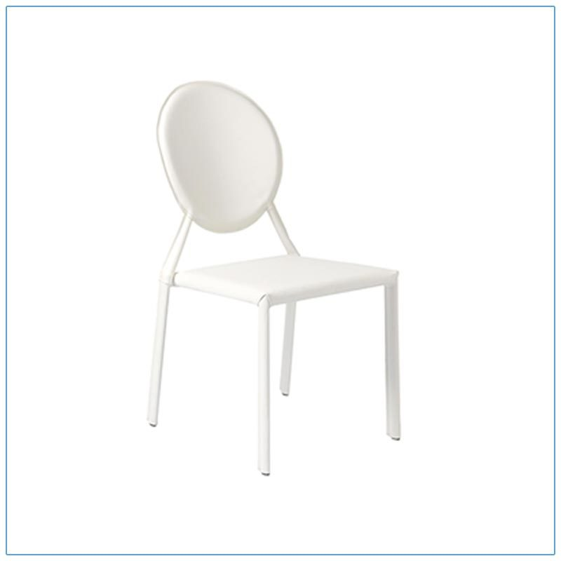 Isabella Chairs - White - LV Exhibit Rentals in Las Vegas
