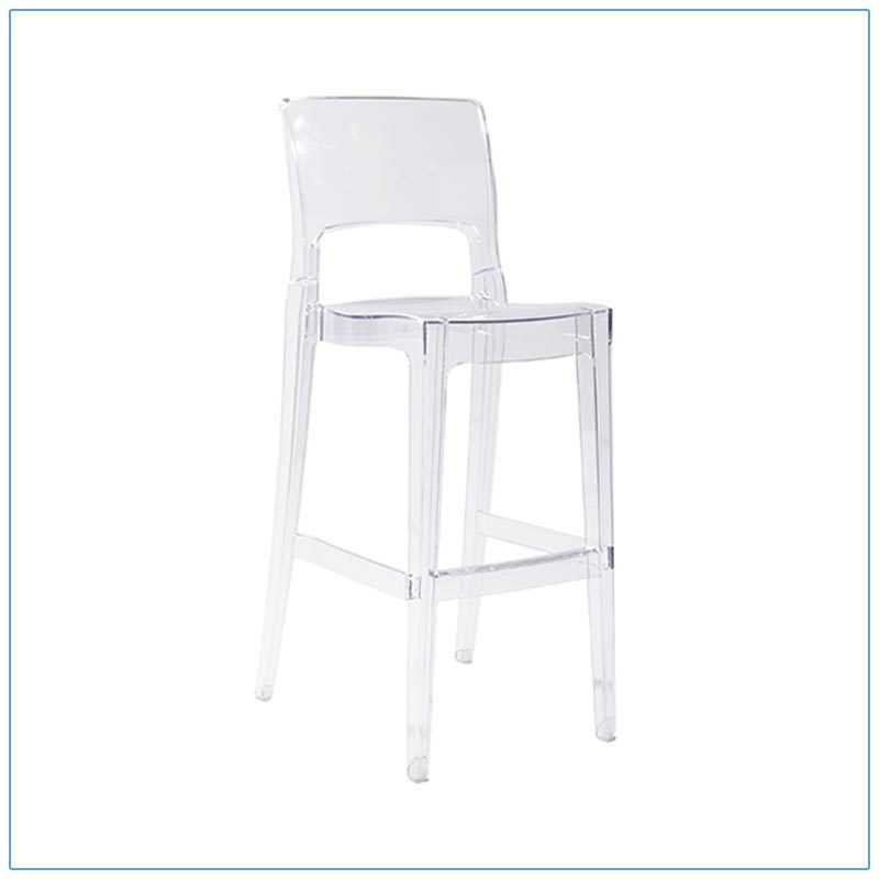 Isy Bar Stool - Trade Show Furniture Rentals from LV Exhibit Rentals in Las Vegas