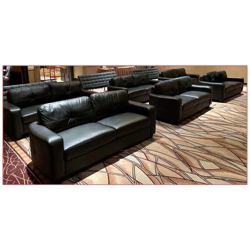 Jazzy Sofa - Fox Racing - LV Exhibit Rentals in Las Vegas