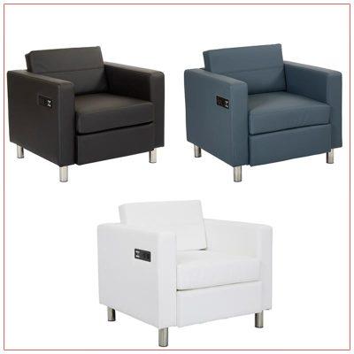 Jolt Bay Lounge Chairs - LV Exhibit Rentals in Las Vegas