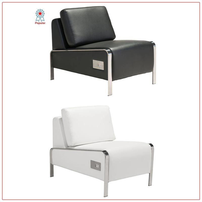 Jolt USB Armless Lounge Chairs - LV Exhibit Rentals in Las Vegas