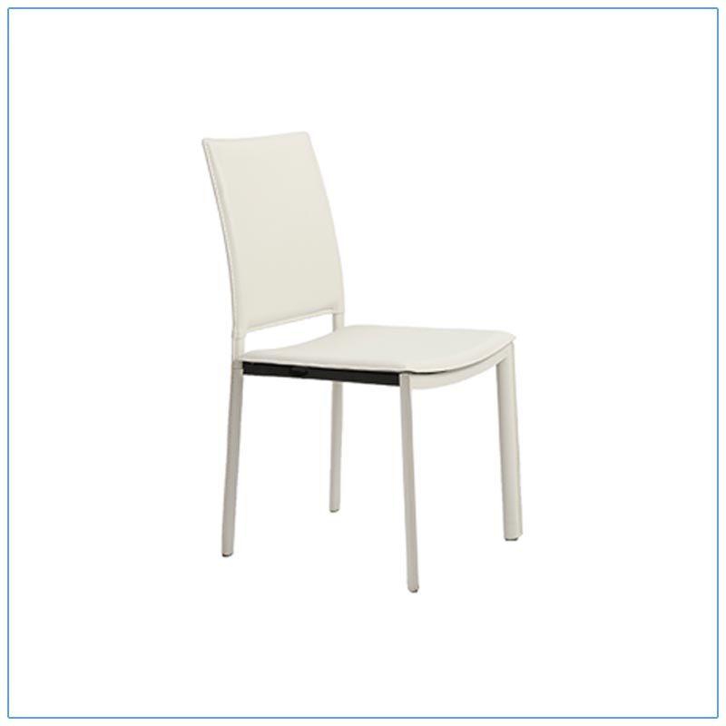 Kate Chairs - White - LV Exhibit Rentals in Las Vegas