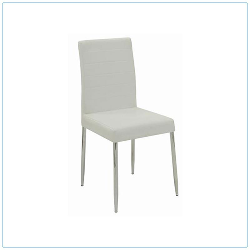 Lance Chairs - White - LV Exhibit Rentals in Las Vegas