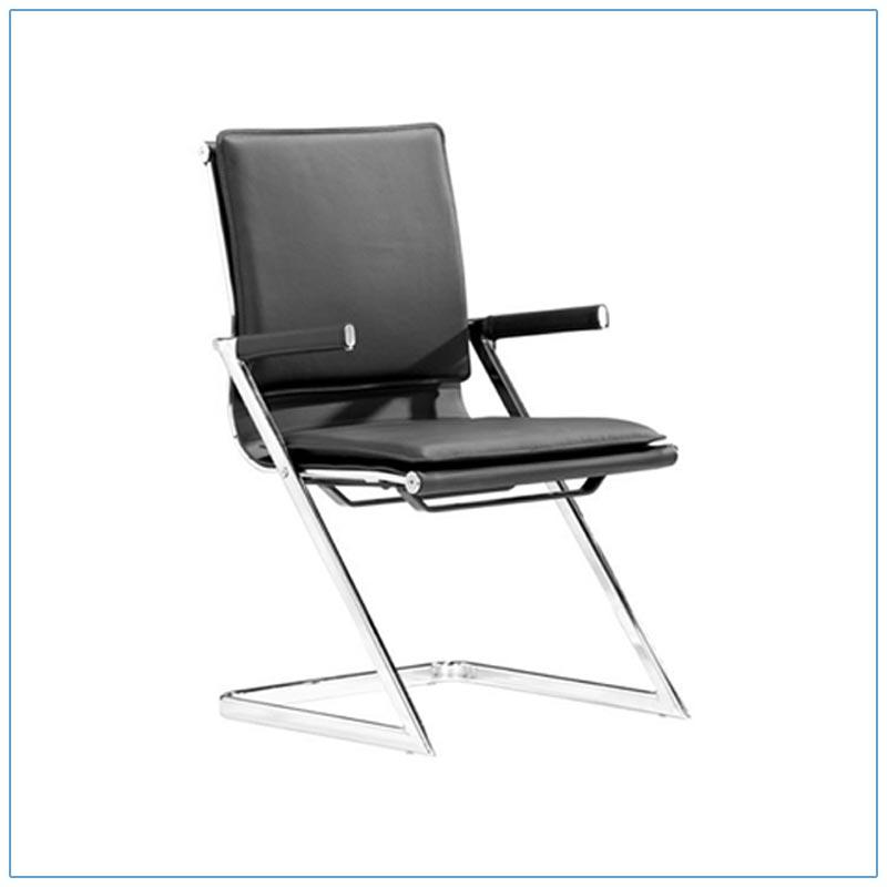 Linder Conference Chairs - Black - LV Exhibit Rentals in Las Vegas