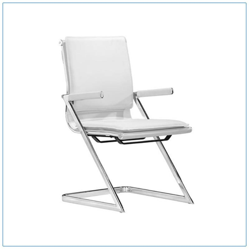 Linder Conference Chairs - White - LV Exhibit Rentals in Las Vegas