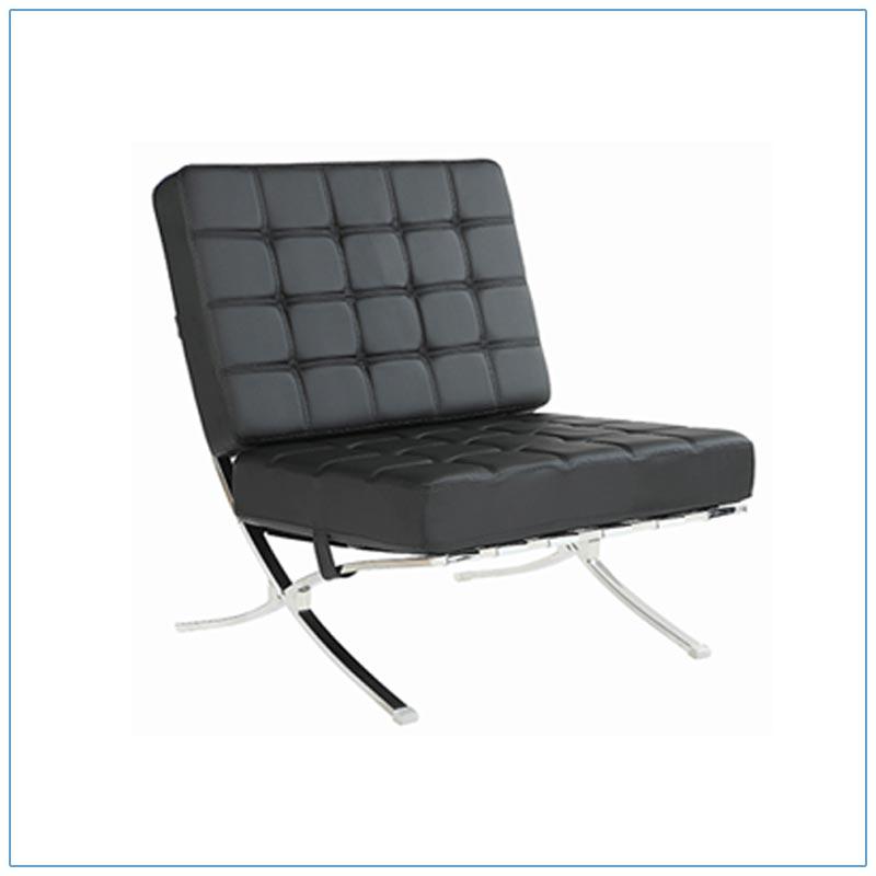 Marco Lounge Chairs - Black - LV Exhibit Rentals in Las Vegas