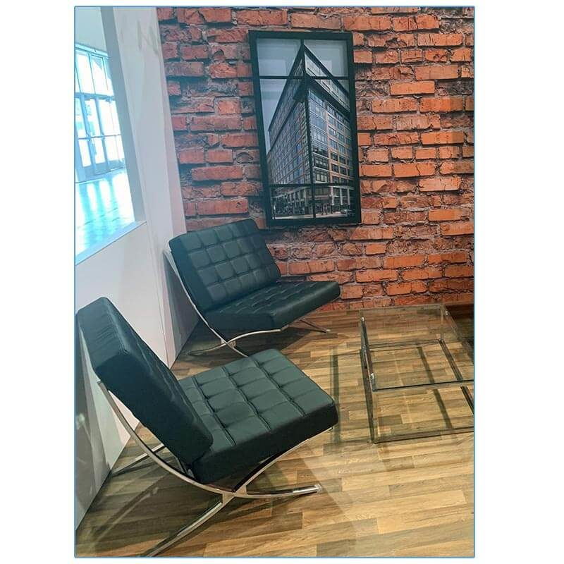 Marco Lounge Chairs in Black - LV Exhibit Rentals in Las Vegas