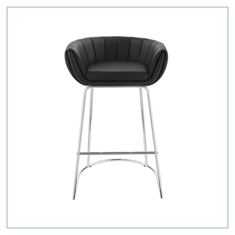 Mitch Bar Stools - Black - Trade Show Furniture Rentals from LV Exhibit Rentals in Las Vegas