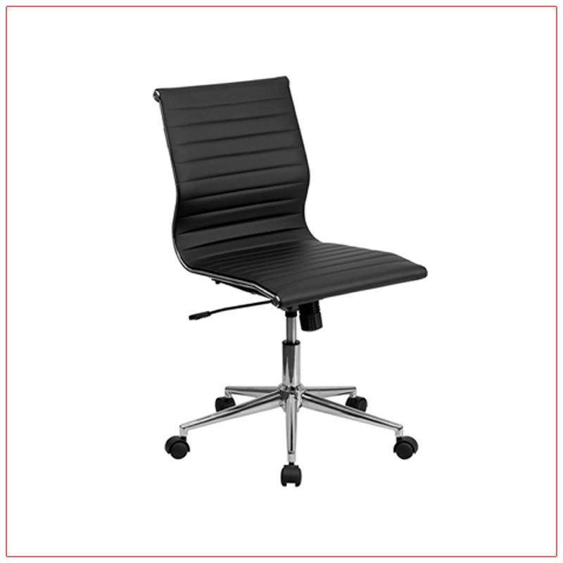 Motto Office Chairs - Black - LV Exhibit Rentals in Las Vegas