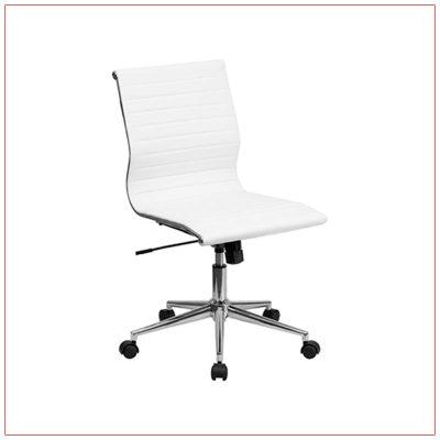 Motto Office Chairs - White - LV Exhibit Rentals in Las Vegas