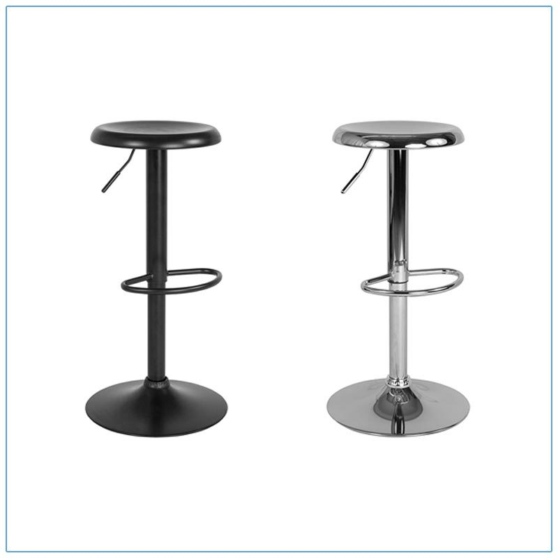 Orbit Bar Stools - Trade Show Furniture Rentals from LV Exhibit Rentals in Las Vegas