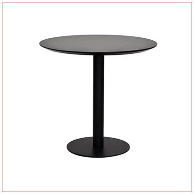Paras Cafe Table - Black - LV Exhibit Rentals in Las Vegas
