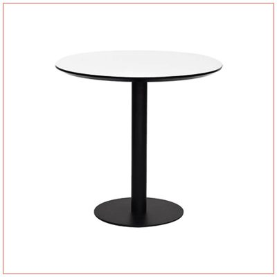 Paras Cafe Table - White - LV Exhibit Rentals in Las Vegas