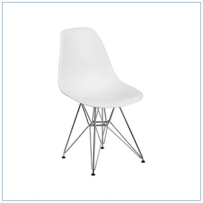 Paris Chairs - White - LV Exhibit Rentals in Las Vegas