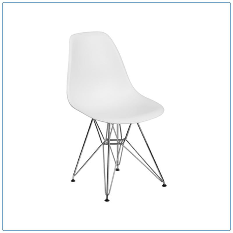 Paris Chairs - White - LV Exhibit Rentals in Las Vegas