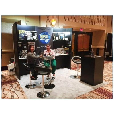 Pluto Bar Stools - Black - LV Exhibit Rentals in Las Vegas