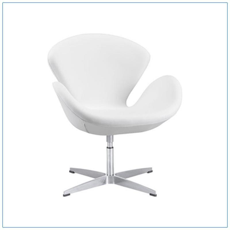 Pori Lounge Chairs - White - LV Exhibit Rentals in Las Vegas