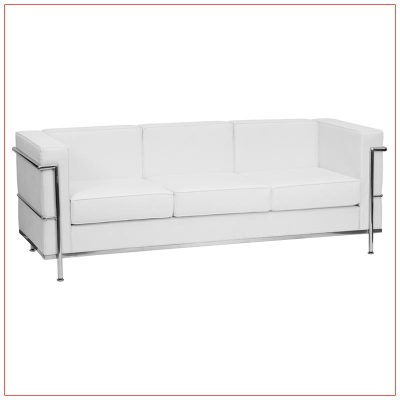 Regal Sofa - LV Exhibit Rentals in Las Vegas