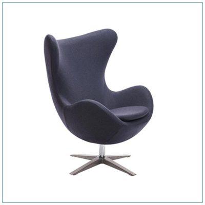 Seek Lounge Chairs - Iron Gray - LV Exhibit Rentals in Las Vegas