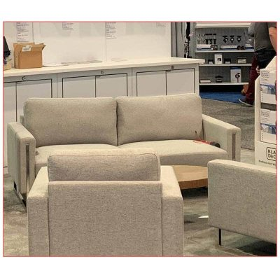 Stella Sofa - Paragon Group - LV Exhibit Rentals in Las Vegas
