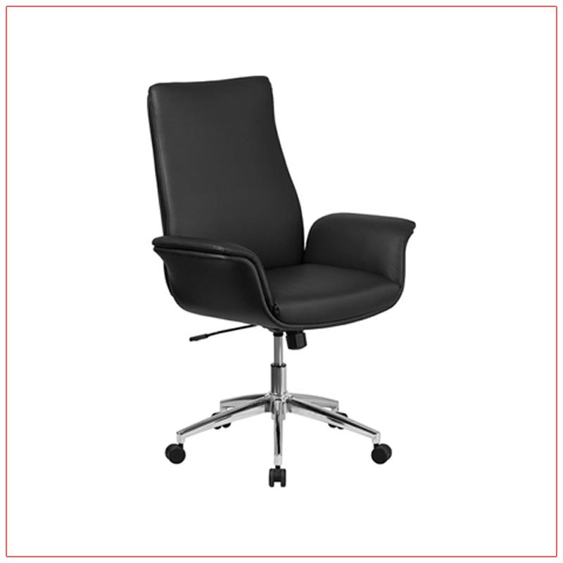 Swift Office Chairs - Black - LV Exhibit Rentals in Las Vegas