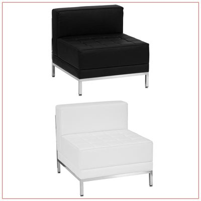 Tampa Armless Sectional - LV Exhibit Rentals in Las Vegas
