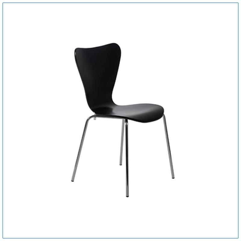 Tendy Chairs - Black - LV Exhibit Rentals in Las Vegas