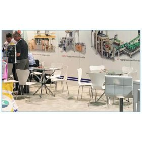 Tendy Chairs - White - Concetti - LV Exhibit Rentals in Las Vegas