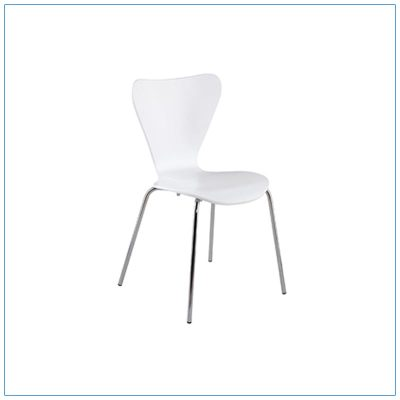 Tendy Chairs - White - LV Exhibit Rentals in Las Vegas