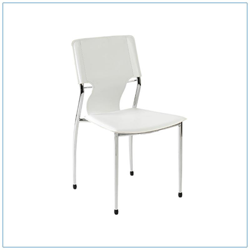 Terry Chairs - White - LV Exhibit Rentals in Las Vegas