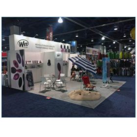 Terry Chairs White - Wetbrush - LV Exhibit Rentals in Las Vegas