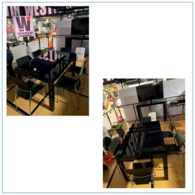 Terry Chairs in Black - LV Exhibit Rentals in Las Vegas