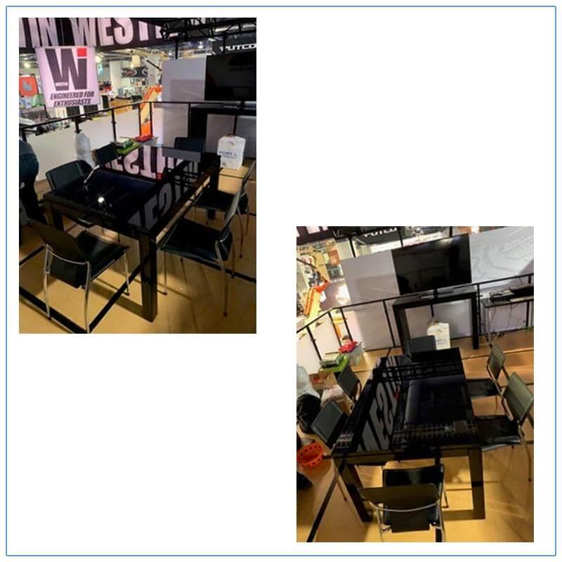 Terry Chairs in Black - LV Exhibit Rentals in Las Vegas