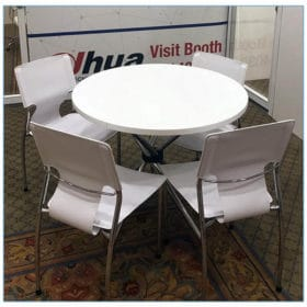 Terry Chairs in White - LV Exhibit Rentals in Las Vegas