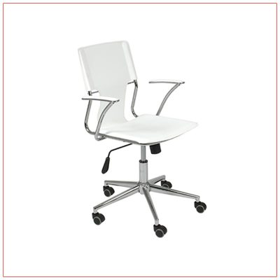 Terry Office Chairs - White - LV Exhibit Rentals in Las Vegas
