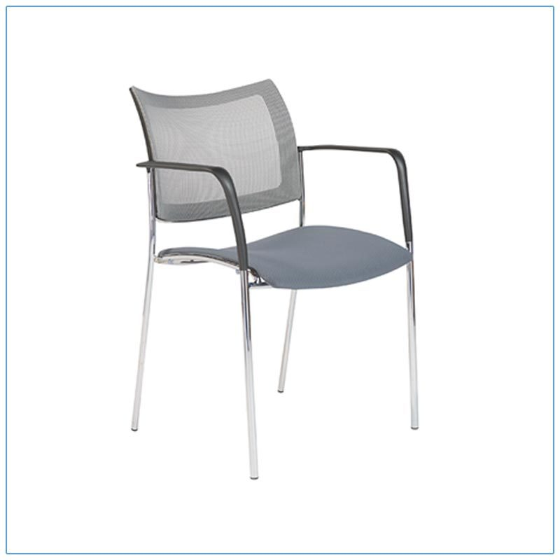 Vahn Conference Chairs - Gray - LV Exhibit Rentals in Las Vegas