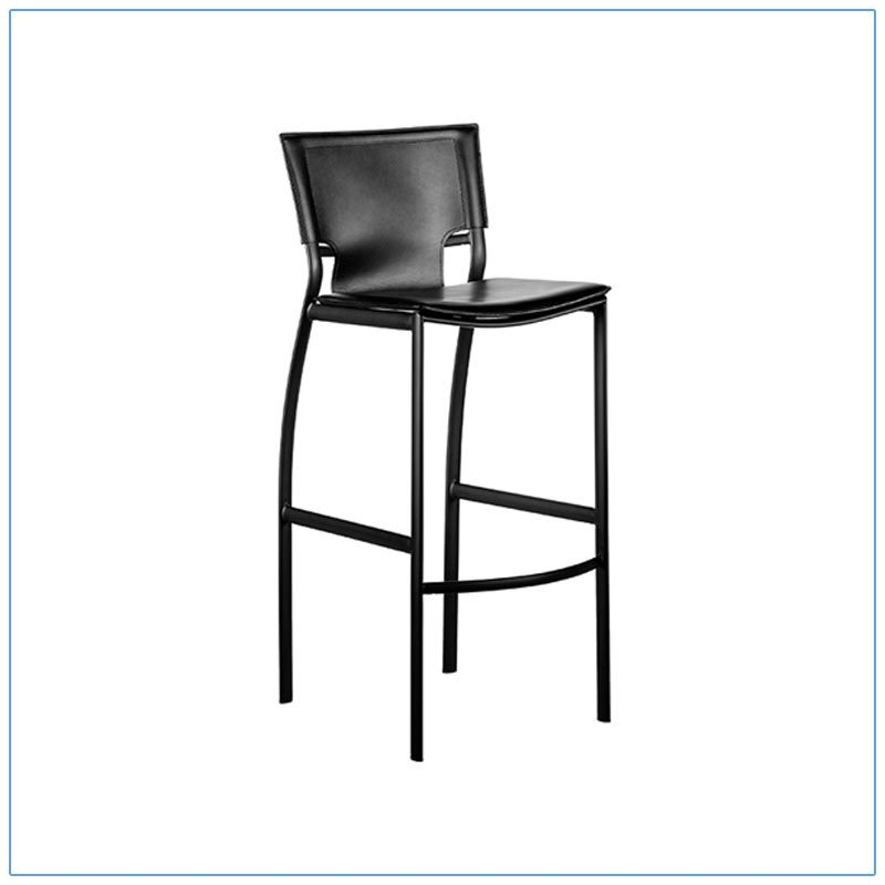 Vinnie Bar Stool - Trade Show Furniture Rentals from LV Exhibit Rentals in Las Vegas