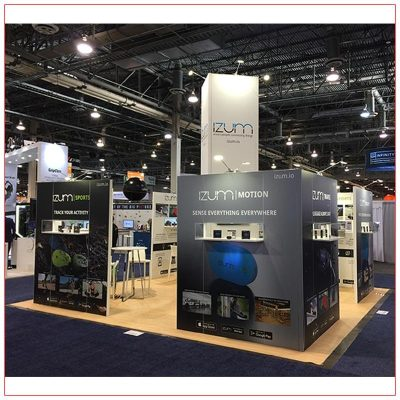 20x20 Trade Show Booth Rental Package 401 LV Exhibit Rentals in Las Vegas
