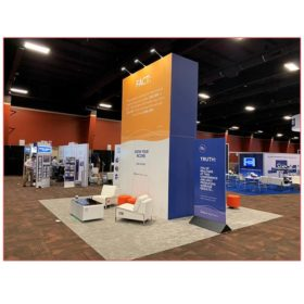 20x20 Trade Show Booth Rental Package 406A - Alterra - LV Exhibit Rentals in Las Vegas