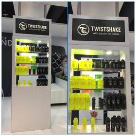 20x30 Trade Show Booth Rental Package 500 - Custom Product Display - LV Exhibit Rentals in Las Vegas