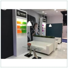20x30 Trade Show Booth Rental Package 500 - Lounge Seating Areas - LV Exhibit Rentals in Las Vegas