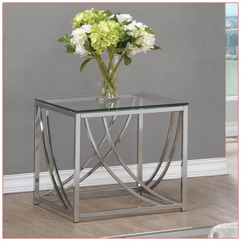 Amber End Tables - Close Up - LV Exhibit Rentals in Las Vegas