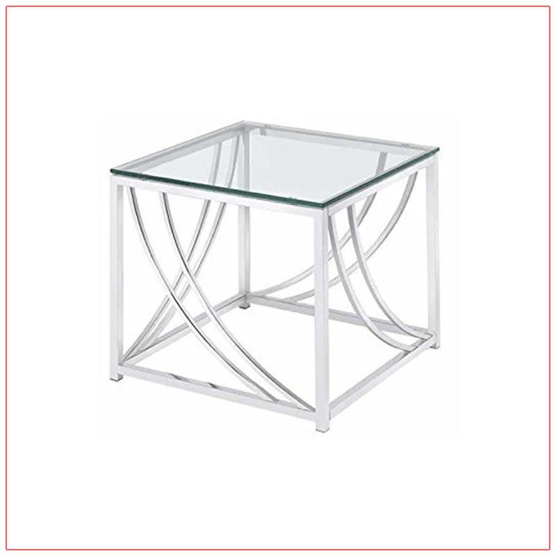 Amber End Tables - LV Exhibit Rentals in Las Vegas