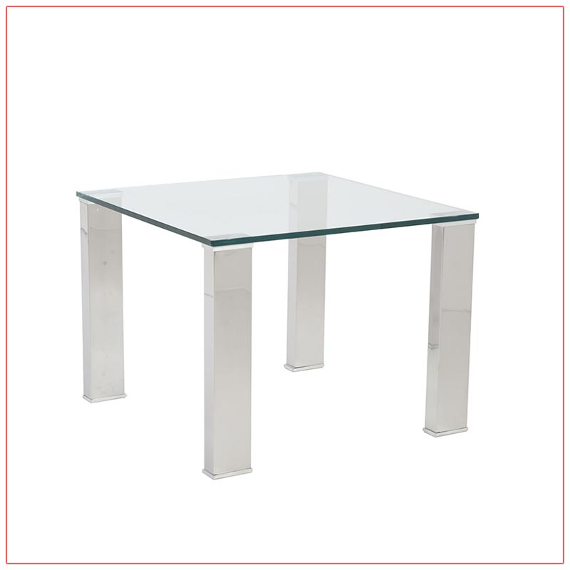 Beth End Tables - LV Exhibit Rentals in Las Vegas