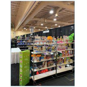Gilbert Shelves - White - Everest Toys - LV Exhibit Rentals in Las Vegas
